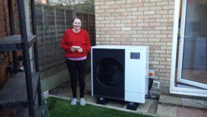 New Clean Energy Air source heat pump