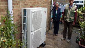 Air-Source Heat Pump Sandy